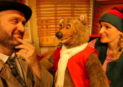 miniature du spectacle l'affaire père Noël avec monsieur l'ours